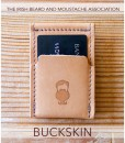 Irish Beard Buckskin Wezel Wallet